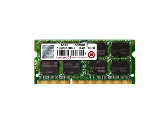 Памет Transcend 1GB 204pin SO-DIMM DDR3 PC1066 CL7 - 2