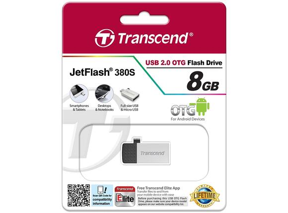 Флаш памет Transcend 8GB JETFLASH 380 - 4