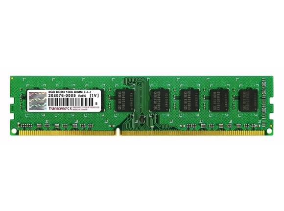 Памет Transcend 2GB 240pin DIMM DDR3 PC1066 CL7 - 2