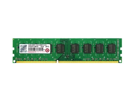 Памет Transcend 1GB 240pin DIMM DDR3 PC1066 CL7