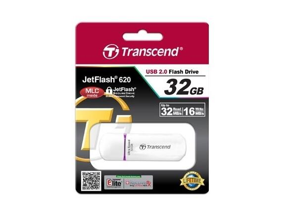Флаш памет Transcend 32GB JETFLASH 620 (Purple) - 4
