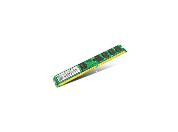 Памет Transcend 2GB 240pin DIMM DDR2 PC667 CL5 Gold Lead - 2