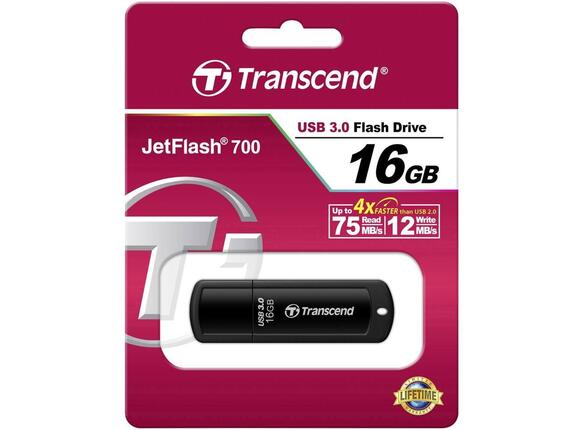 Флаш памет Transcend 16GB JETFLASH 700 - 4