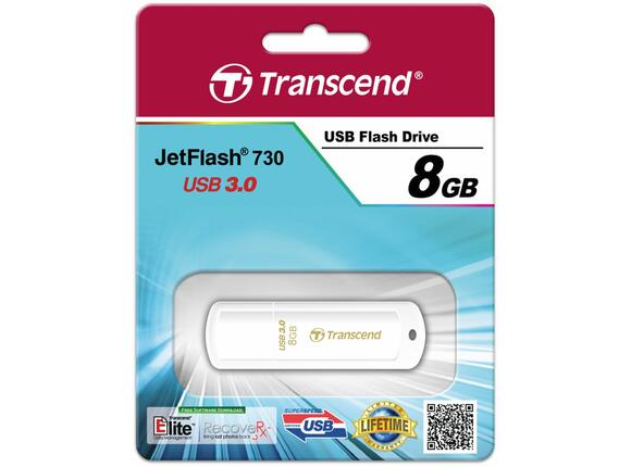 Флаш памет Transcend 8GB JETFLASH 730 - 7