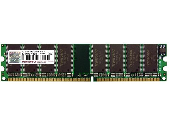 Памет Transcend 1GB JetRam 184pin DIMM DDR400 CL3
