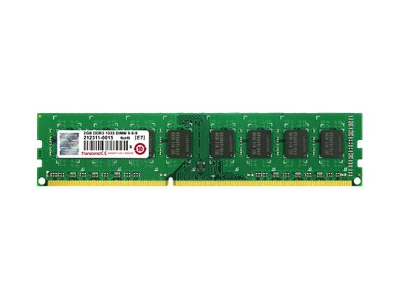 Памет Transcend 2GB 240-pin DIMM DDR3 256Mx64 DDR3-1600 CL11 - 2