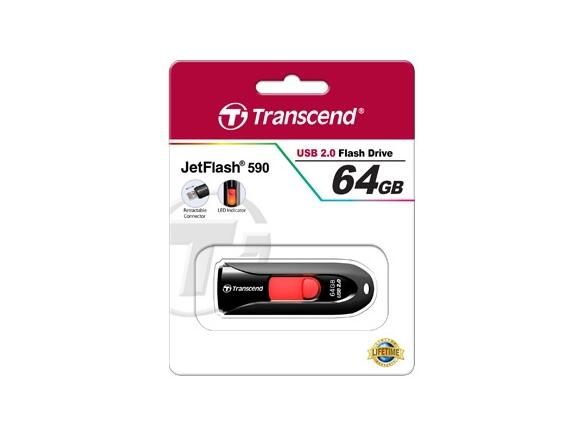 Флаш памет Transcend 64GB JETFLASH 590K - 4
