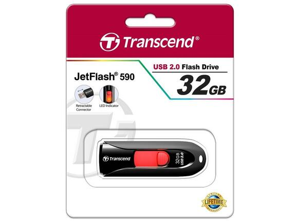 Флаш памет Transcend 32GB JETFLASH 590K - 2