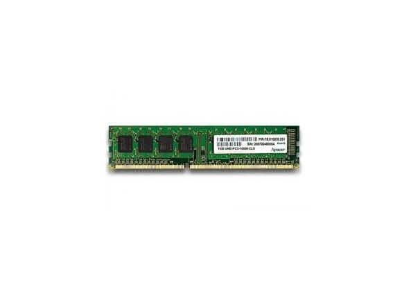 Памет Apacer 2GB Desktop Memory - DDR3 DIMM PC10600 @ 1333MHz