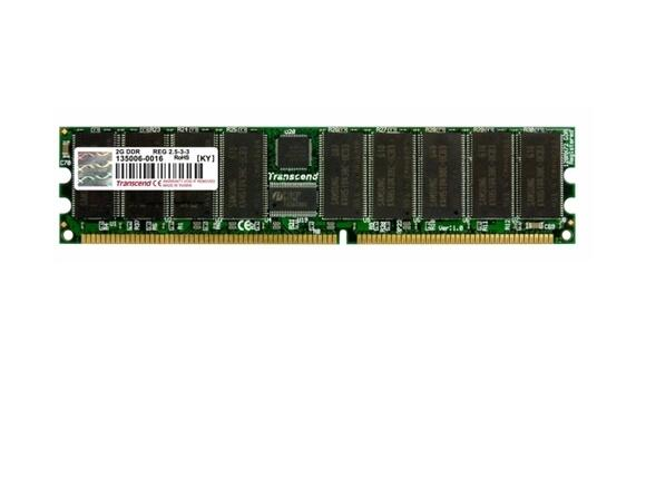 Памет Transcend 2GB Kit  DDR400 (original P/N 73P3234)