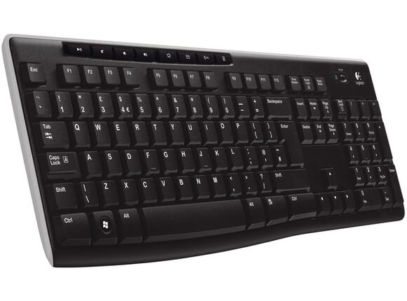 Клавиатура Logitech Wireless Keyboard K270 - 2