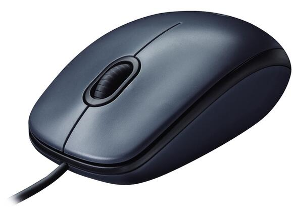Мишка Logitech Mouse M100 Dark - 2