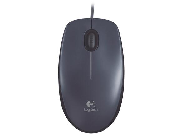 Мишка Logitech Mouse M100 Dark