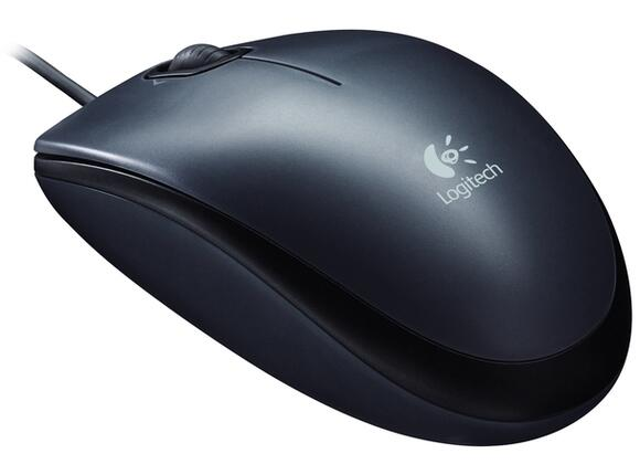 Мишка Logitech Mouse M100 Dark - 3