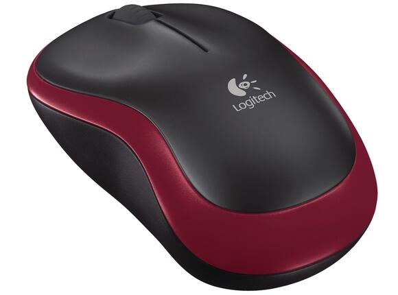 Мишка Logitech Wireless Mouse M185 Red - 2