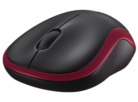 Мишка Logitech Wireless Mouse M185 Red - 3
