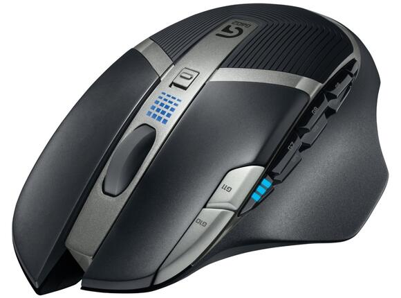 Мишка Logitech Gaming Mouse G602 - Wireless - 2.4GHz - 6