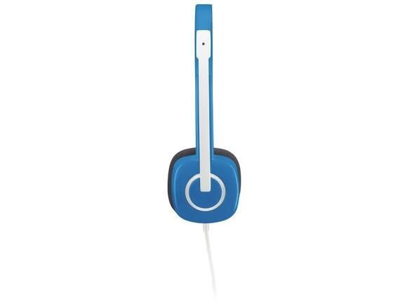 Слушалки Logitech Stereo Headset H150 Blueberry - 4