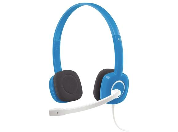 Слушалки Logitech Stereo Headset H150 Blueberry - 2