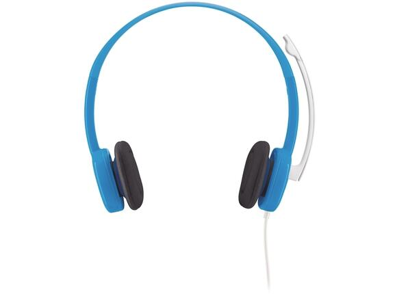 Слушалки Logitech Stereo Headset H150 Blueberry