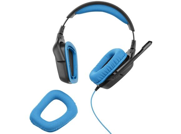 Слушалки Logitech G430 Surround Sound Gaming Headset - 4