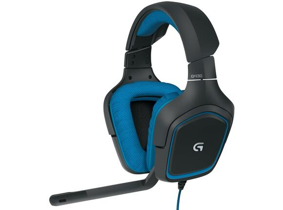 Слушалки Logitech G430 Surround Sound Gaming Headset