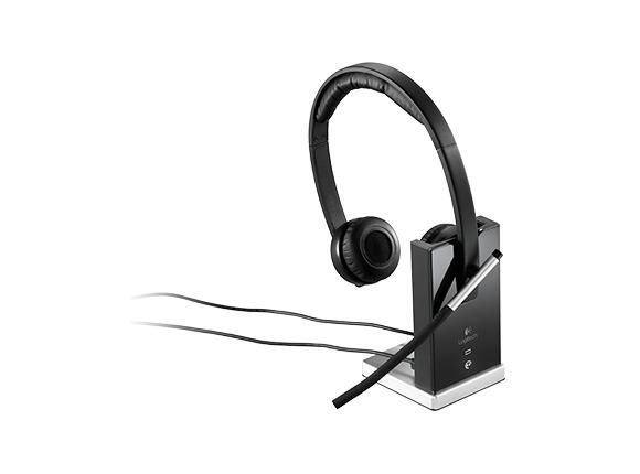 Слушалки Logitech Wireless Headset Dual H820e - USB - 3