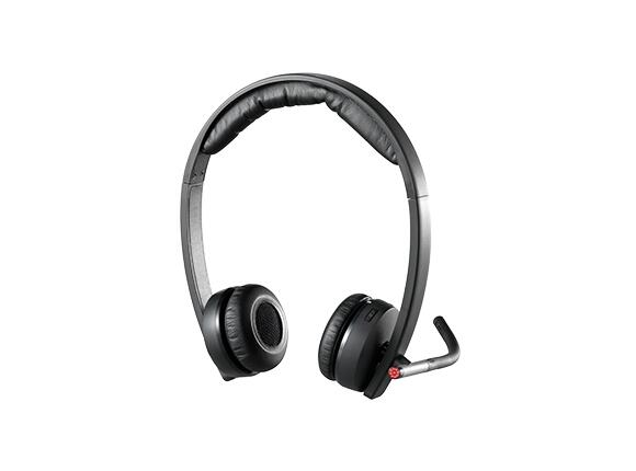 Слушалки Logitech Wireless Headset Dual H820e - USB - 2