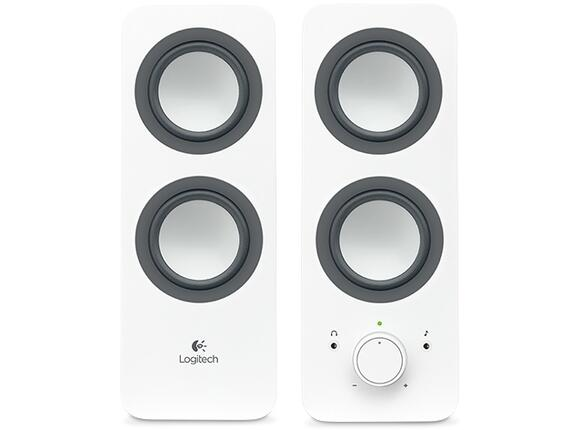 Тонколони Logitech 2.0 Speakers Z200 - Snow white