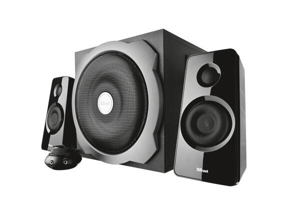 Тонколони TRUST Tytan 2.1 Subwoofer Speaker Set - black