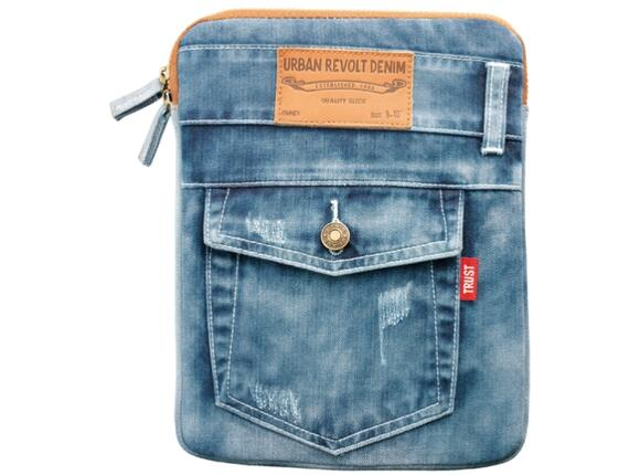 "Калъф TRUST Jeans Sleeve for 10"" tablets - 5"
