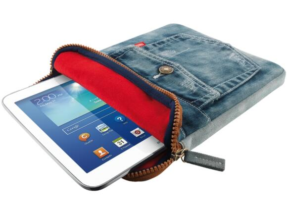 "Калъф TRUST Jeans Sleeve for 10"" tablets"