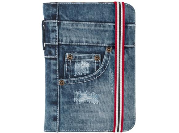 "Калъф TRUST Jeans Folio Stand for 7-8"" tablets - 5"