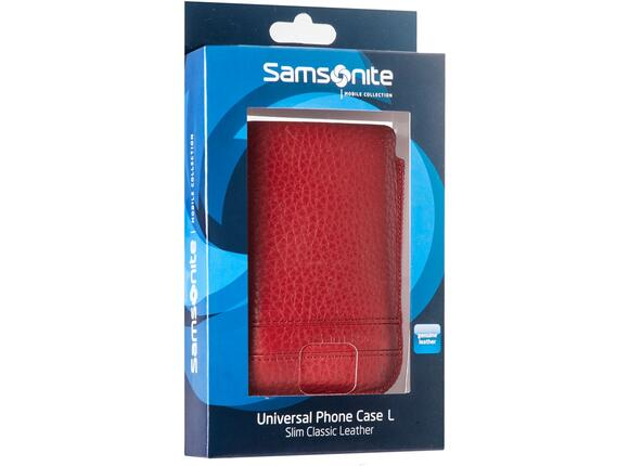 Калъф Samsonite SLIM CLASSIC LEATHER-CLASSIC SLEEVE L red - 5