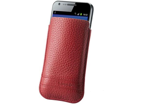 Калъф Samsonite SLIM CLASSIC LEATHER-CLASSIC SLEEVE L red - 3