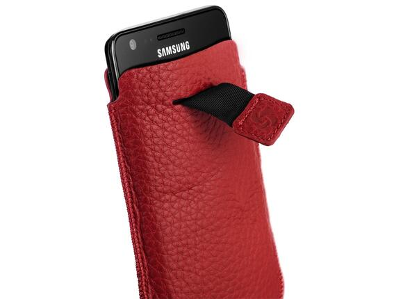 Калъф Samsonite SLIM CLASSIC LEATHER-CLASSIC SLEEVE L red - 4