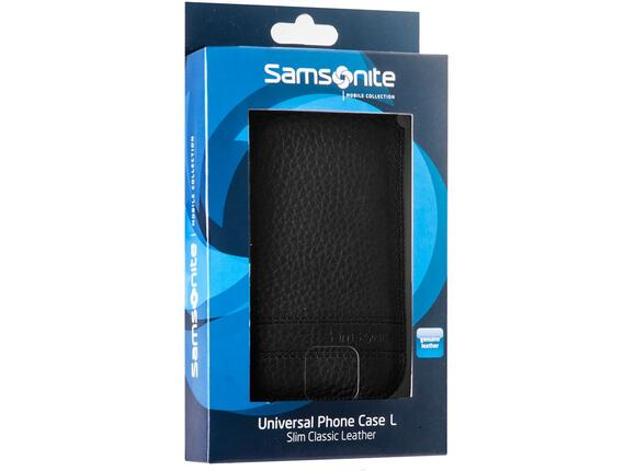 Калъф Samsonite SLIM CLASSIC LEATHER-CLASSIC SLEEVE L black - 6