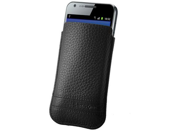 Калъф Samsonite SLIM CLASSIC LEATHER-CLASSIC SLEEVE L black - 3