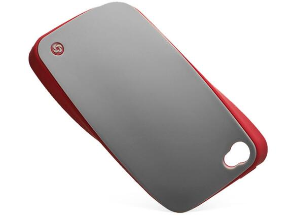 Калъф Samsonite Bi-tone iPhone 4S Grey/Red - 2