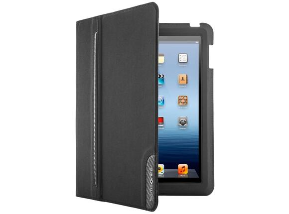 "Калъф Samsonite Tabzone iPad 3 Ultraslim Carbontech 9.7"" Black/Carbon - 2"