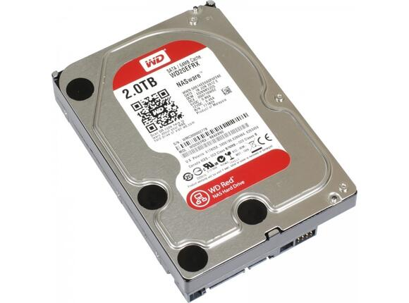 Твърд диск HDD 2TB SATAIII WD Red 64MB for NAS (3 years warranty) - 4