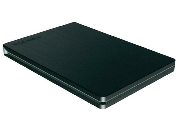 "Твърд диск Toshiba ext. drive 2.5"" STOR.E SLIM for Mac 1TB grey"