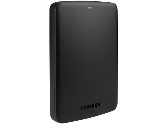 "Твърд диск Toshiba ext. drive 2.5"" CANVIO BASICS 1TB black"