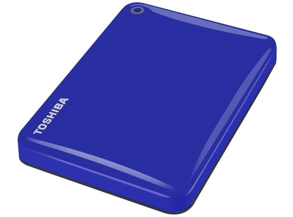 "Твърд диск Toshiba ext. drive 2.5"" Canvio Connect II 1TB blue - 3"