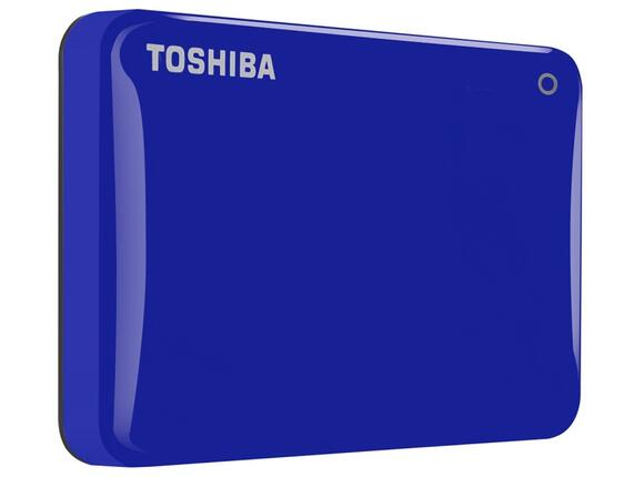 "Твърд диск Toshiba ext. drive 2.5"" Canvio Connect II 1TB blue - 2"