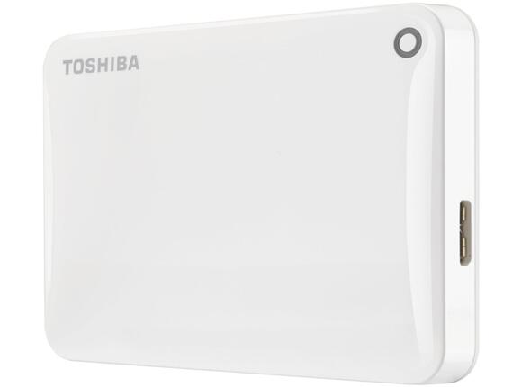 "Твърд диск Toshiba ext. drive 2.5"" Canvio Connect II 1TB white"