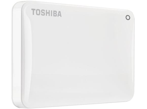 "Твърд диск Toshiba ext. drive 2.5"" Canvio Connect II 1TB white - 2"
