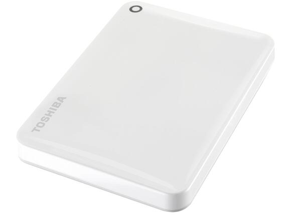 "Твърд диск Toshiba ext. drive 2.5"" Canvio Connect II 1TB white - 3"