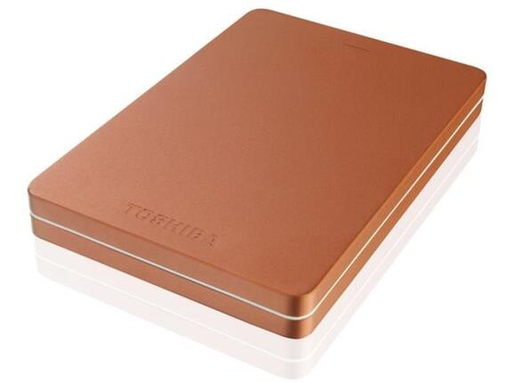 "Твърд диск Toshiba ext. drive 2.5"" Canvio ALU 3S 2TB Red"