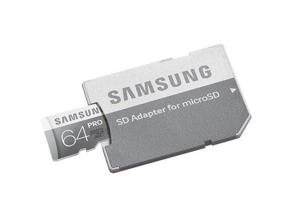 Флаш карта Samsung 64GB micro SD Card PRO+ with Adapter - 2